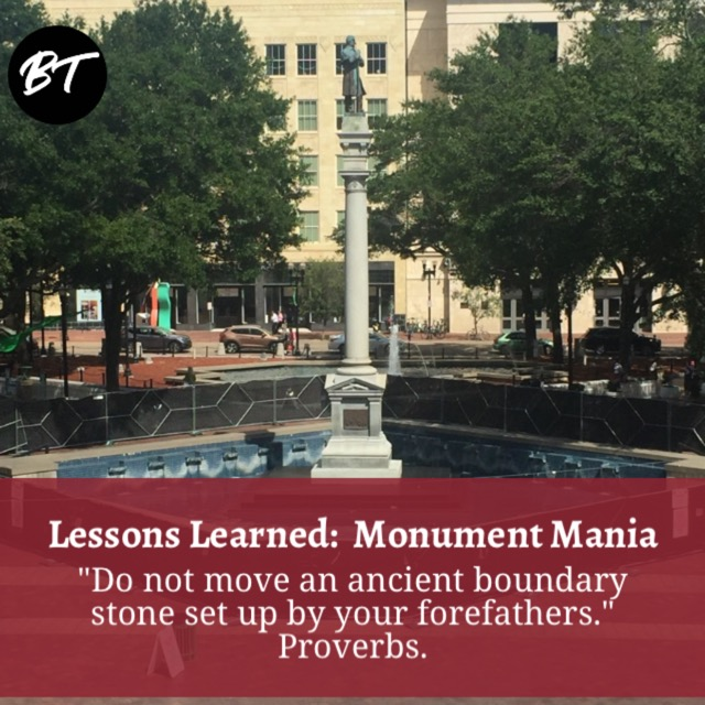 Lessons Learned:  Monument Mania