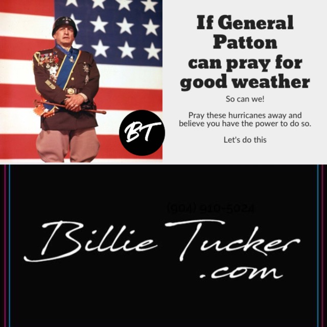 If Patton Can Pray for Good Weather So Can We!